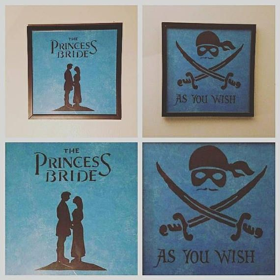 Check out this item in my Etsy shop https://www.etsy.com/listing/521144028/the-princess-bride-character-frames