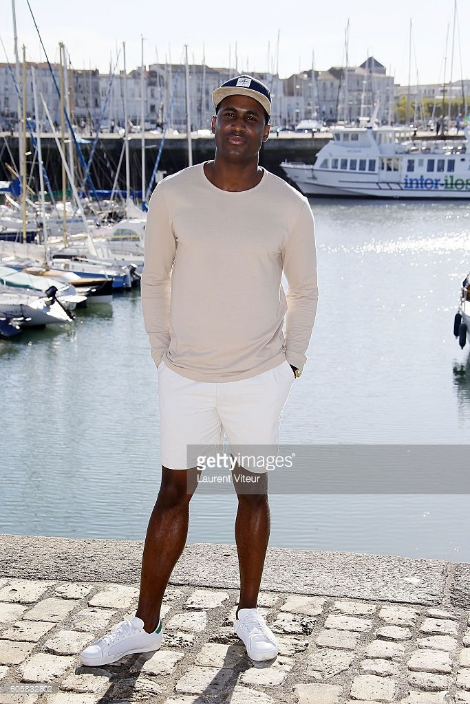 Actor Kadiff Kirwan attends the 'Chewing-Gum' Photocall during the 18th Festival of TV Fiction on September 15, 2016 in La Rochelle, France.