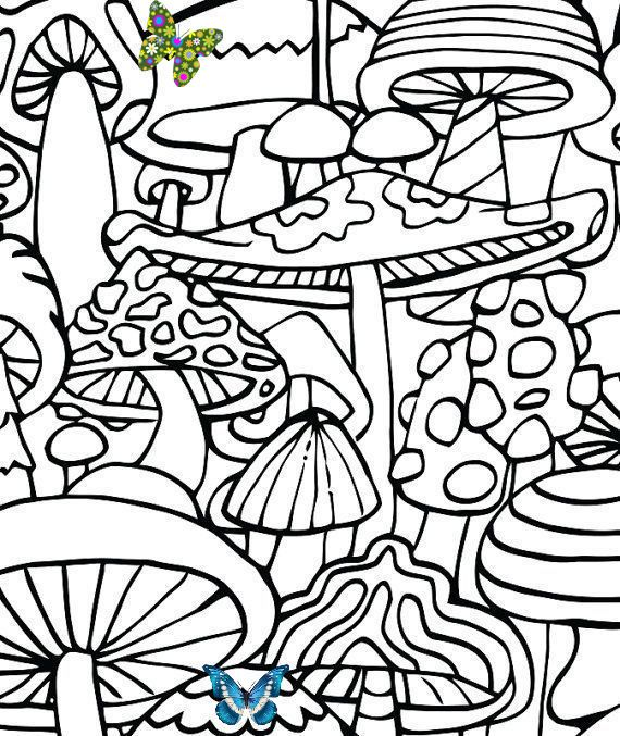 Pin On Hippie Coloring