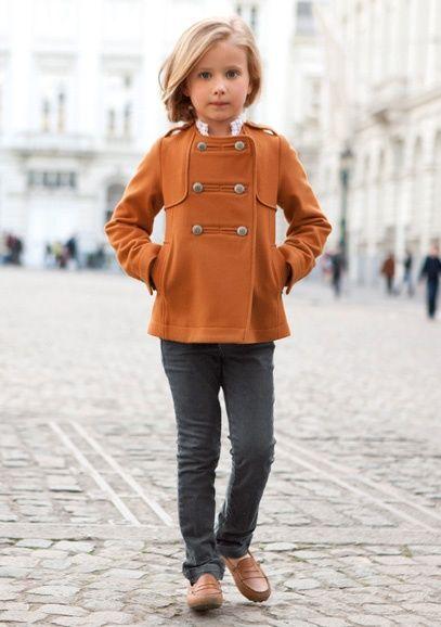kids fashion, girls fashion, coat, flats, fashion #neoprep