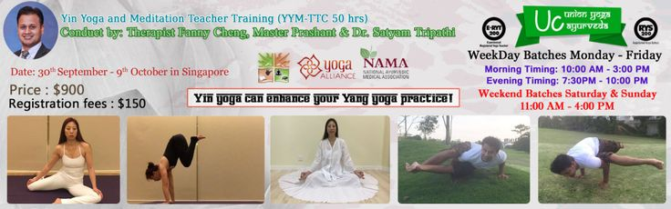 Unionyoga Ayurveda offers yoga teacher training and online yoga classes in Singapore. New yoga Course of all styles offered day-to-day. CALL +65 6842 0885