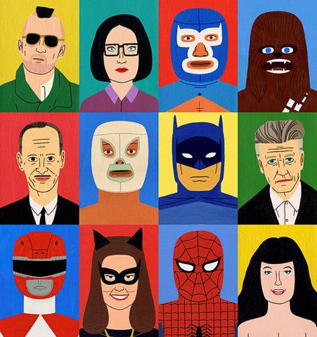 I think this is a chart of costumes my friend Chris Hunt has worn.: Jack Teagl, Inspiring People, Art Prints, Jack O'Connell, Superheroes, David Lynch, Super Heroes, Inspiration People, Role Models