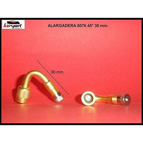 Extension de valve métal 45º (Prix pour unité): Votre adaptateur – prolongateur de valve , fera gonfler les pneus le travail plus facile !…