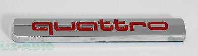 Audi quattro #badge red / #black #emblem a3 s3 a4 s4 a5 s5 a6 s6 rs3 rs4 rs6 tt n,  View more on the LINK: http://www.zeppy.io/product/gb/2/181753064325/