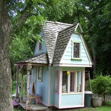 Kids Playhouse Design Ideas, Pictures, Remodel And Decor