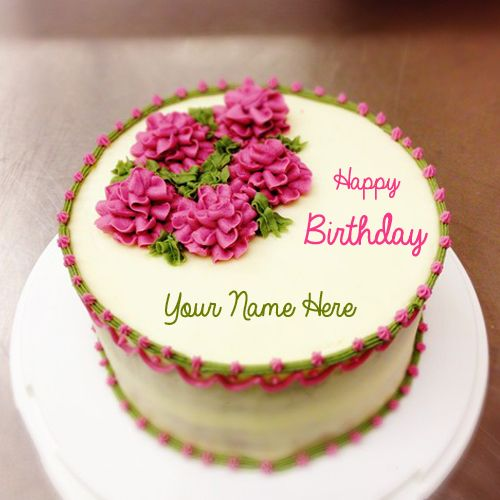 Happy Birthday Cake With Name Nandu