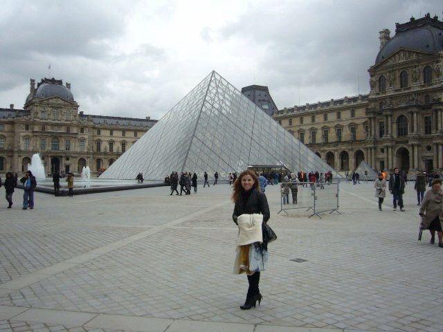 Le Louvre et moi.