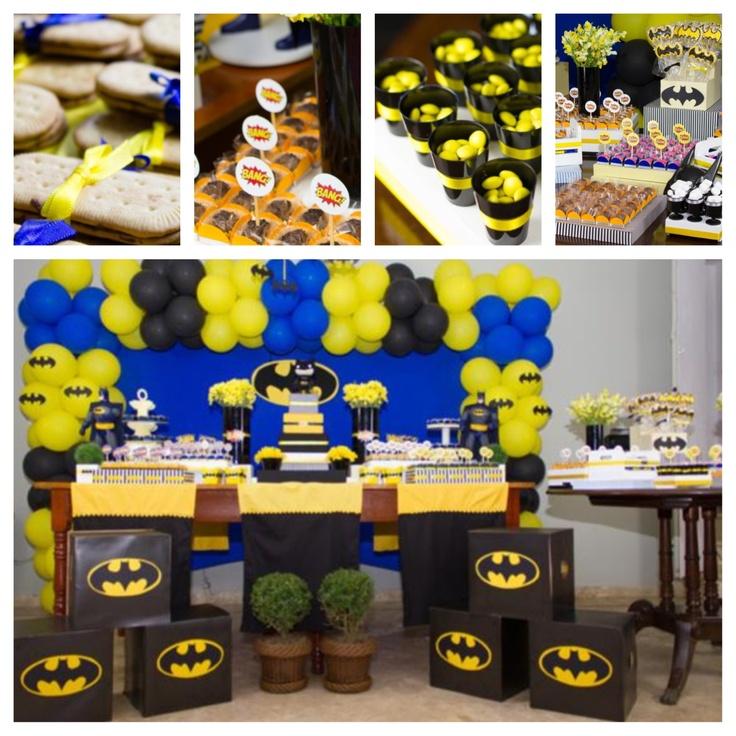 batman party kara 39 s party ideas holidays pinterest. Black Bedroom Furniture Sets. Home Design Ideas