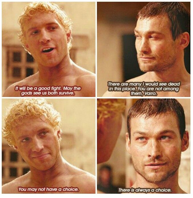 #AndyWhitfield #JaiCourtney #Spartacus My gods the foreshadowing!!! Right in the feels