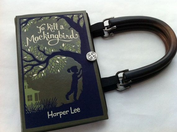 To Kill A Mockingbird Book Purse  Midnight Black by NovelCreations, $45.00 (This is the one I really, really want!)