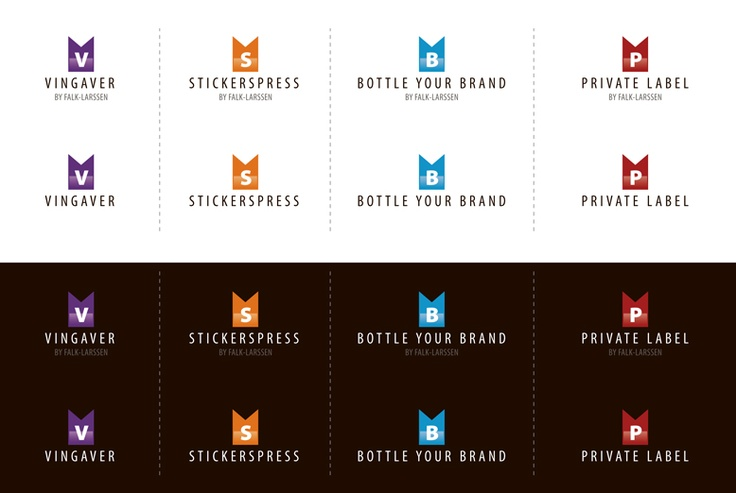 Logos and identity for customer by www.doghouse.no