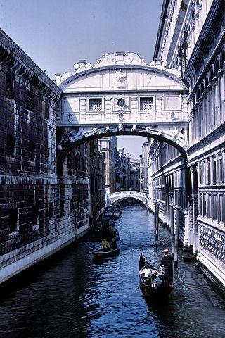 Venice, Italy Bridge Of Sighs