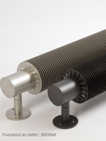 Radiateur industriel à ailette hélicoïdale VD 4601 VARELA DESIGN Prix public indicatif HT : 1 045 € (100 cm de longueur, version EC) ― An...