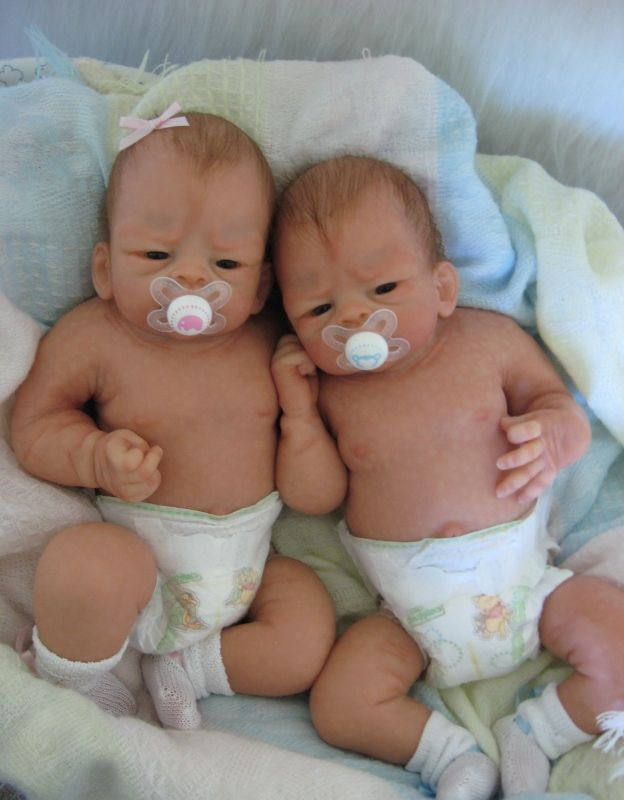 Beautiful silicone babies