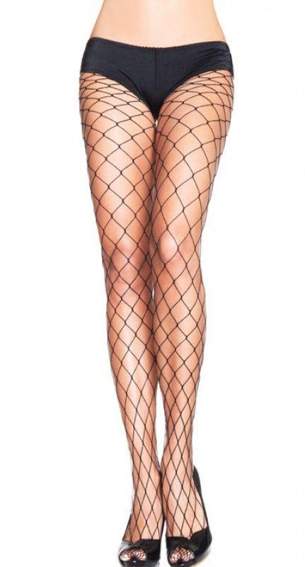 Leg Avenue Black Fence Net Pantyhose   Blame Betty
