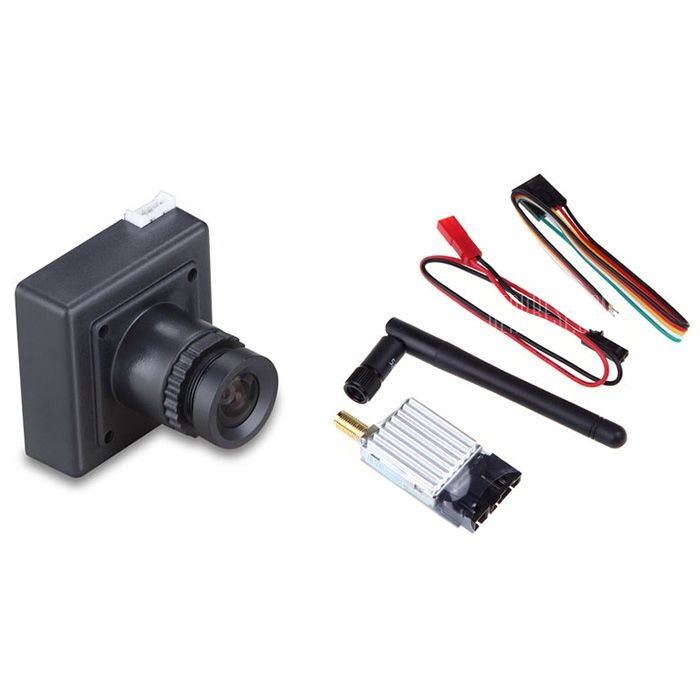 ==> [Free Shipping] Buy Best TS351 5.8G 8CH 200mW Wireless AV Transmitter  CCD 700TVL Camera Set for RC Drone Aerial Photograph Online with LOWEST Price | 32707933853