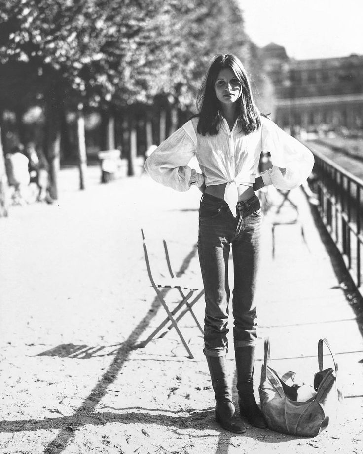 In Paris with Apollonia, 1970 / by Arthur Elgort