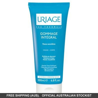 Uriage Gommage Integral Gentle Exfoliating Gel #adorebeautydreamhaul
