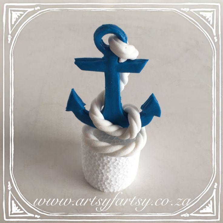 Anchor Cake Topper #anchorcaketopper