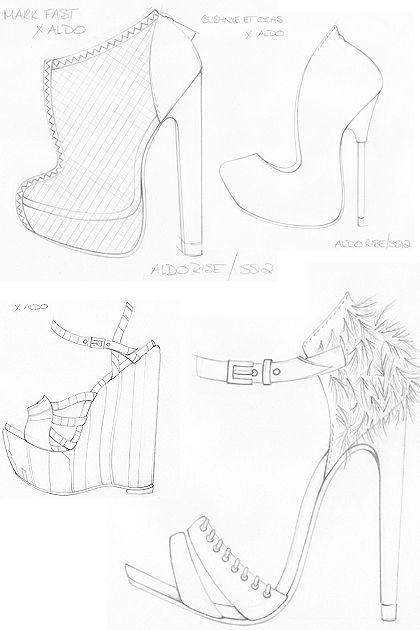 Trendstop.com has been given early access to the footwear design sketches for the latest Aldo Rise designer collaboration. The footwear retailer has teamed up with Preen, JW Anderson, Mark Fast, Cu...