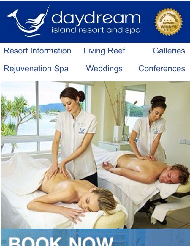 Daydream Island Resort & Spa! Partner massage is on my to do list