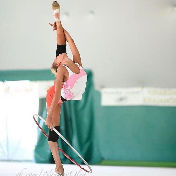 Dina Averina (RUS) training in Croatia