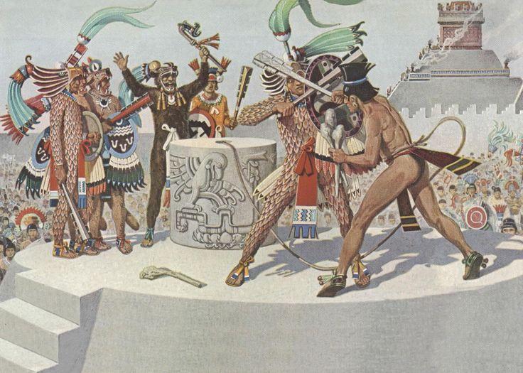 spanish and aztec relationship