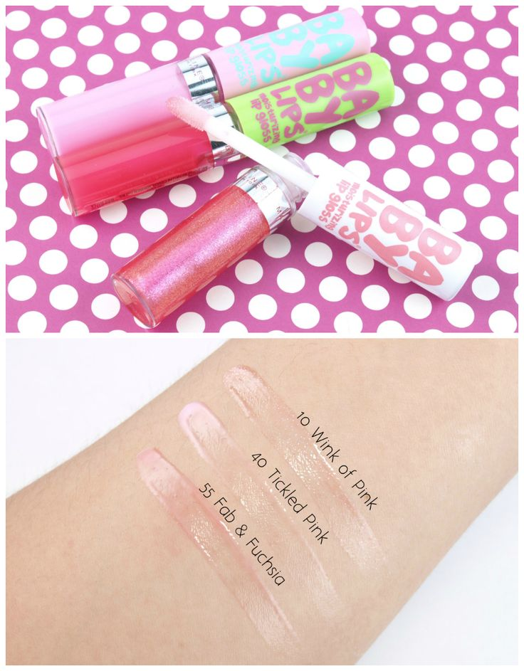 Maybelline Baby Lips Moisturizing Lip Gloss Review And