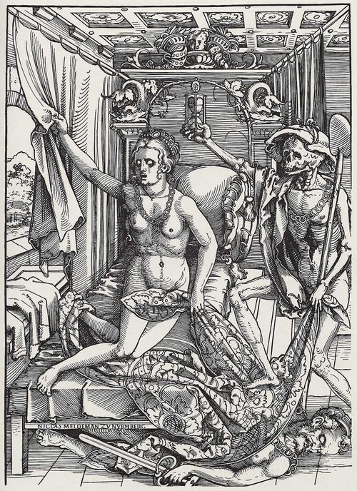 Hans Sebald Beham: Tod und Liebespaar (Death and the Lovers), 1522