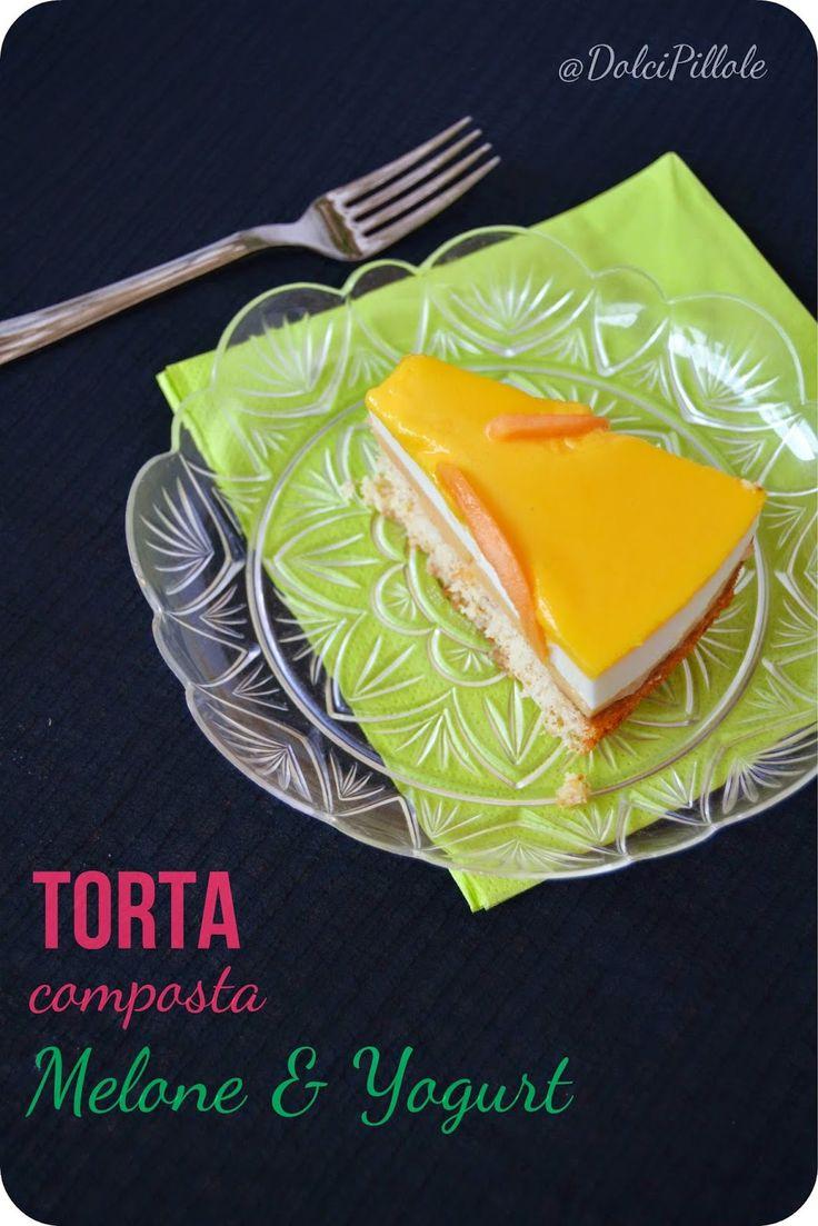 #Tortacomposta al melone e yogurt! Melon and yogurt cake!