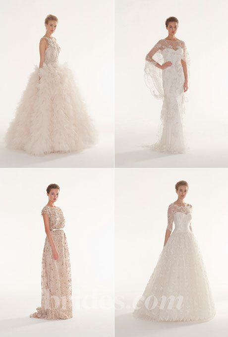 Brides.com: 2013 Wedding Dress Collections. Browse the 2013 wedding dress collection by Langner Couture
