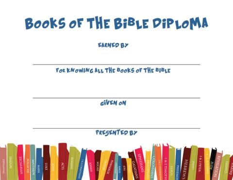 books of the bible lessons for children