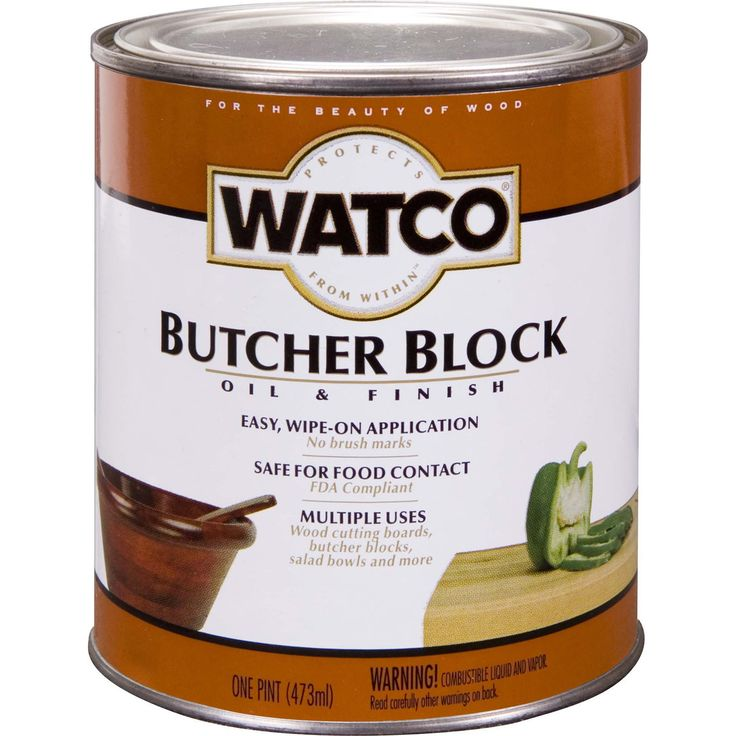Butcher block oil and finish, For easy and safe maintenance of wooden butcher blocks, cutting boards, salad bowls and other items which require a food safe finish, Easy wipe on application, Rich sheen