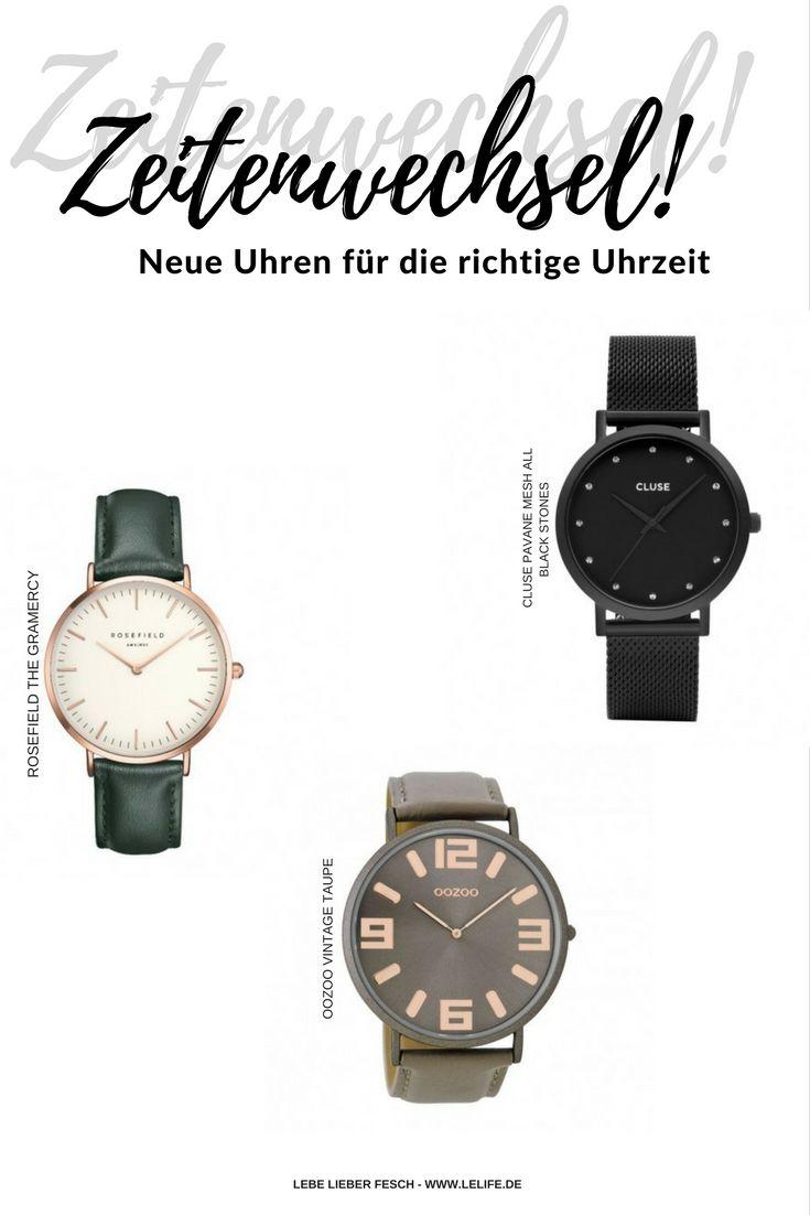 Zeitenwechsel - neue Armbanduhr für die richtige Uhrzeit http://lelife.de/2017/10/zeitenwechsel-neue-armbanduhr-fuer-die-richtige-uhrzeit/