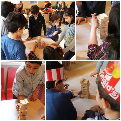 #Jenga#oyunu#çocuklar#ile#masa#oyunu# #altıntepeMcDonalds#doğumgünü
