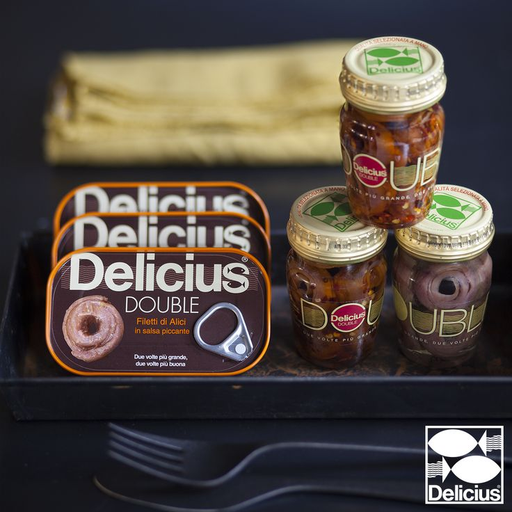 Delicius Double Anchovies! Try them all!