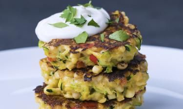 Up your veggie game with theseMini Corn Zucchini Cakes. ...