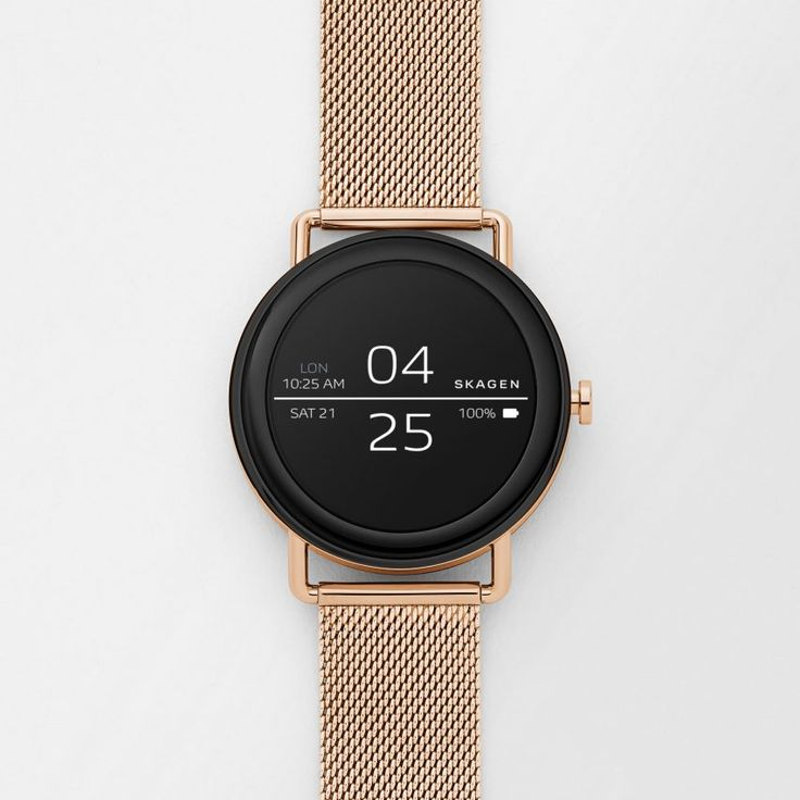 Danish watch brand Skagen has unveiled its first ever touchscreen smartwatch, which is typical of the brand's stripped-back aesthetic.