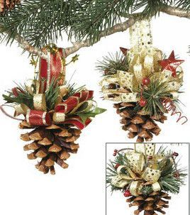 Pine cone arts and crafts: