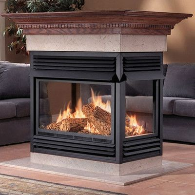 16 best images about 3 sided fireplace options on for Fireplace options