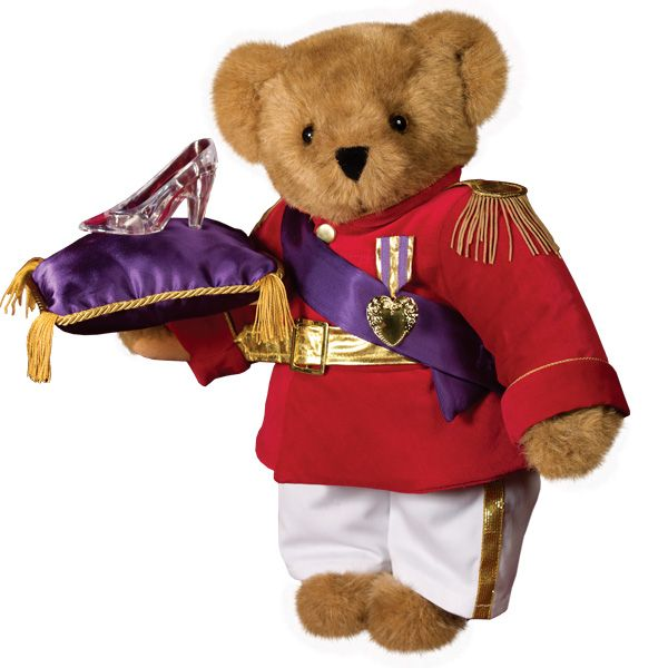 "15"" Prince Charming Teddy Bear from Vermont Teddy Bear. $89.99 #ValentinesDay #Gift #TeddyBear"