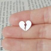broken heart earrings jewelry
