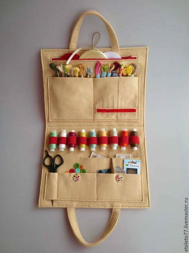 How to create a personal organizer for needlewoman – Art & Craft Ideas