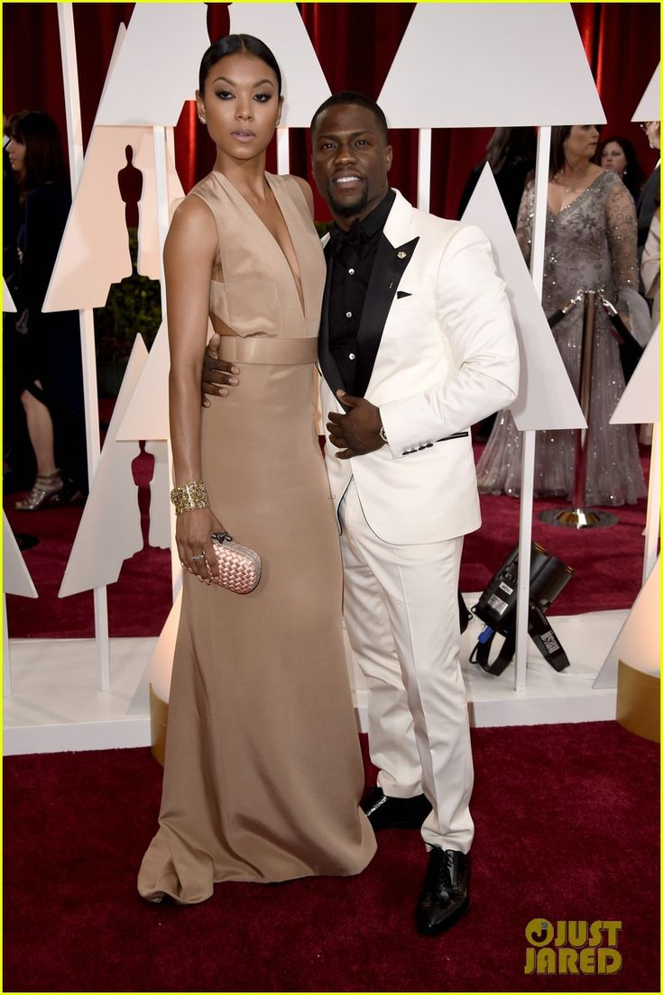 Kevin Hart Hopes to 'Shut Down the Red Carpet' at Oscars 2015 | kevin hart fiance 2015 oscars 03 - Photo