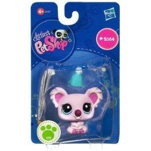 Lps Pink Koala With Party Hat Little Pet Shop Toys Lps Pets Littlest Pet Shop