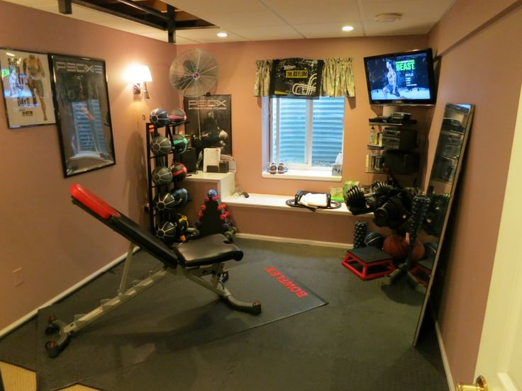 128 Best Dreaming Of A Home Gym Images On Pinterest | Garage Gym, Basement  Gym And Home Gyms