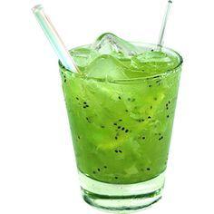 Como Fazer Caipirinha de Kiwi. #Brasil  #Drinks