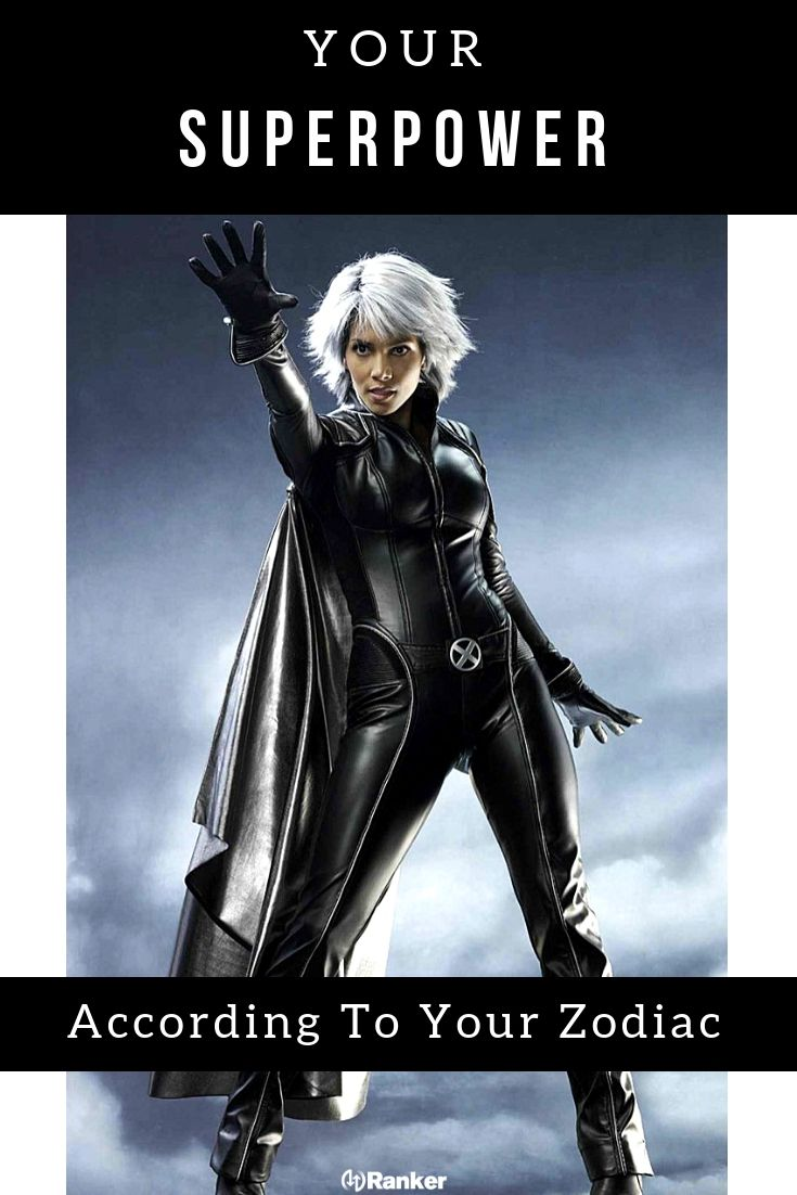 Here S What Superpower You Would Have According To Your Zodiac Sign Superhero Costumes Female Storm Costume X Men