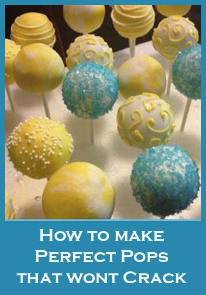 3 Things to Know about Cake Pops: 1) CHILL before dipping. 2) DONT TAP THE BALL, tsp your wrist to get excess choc off, and 3) DOUBLE dip.