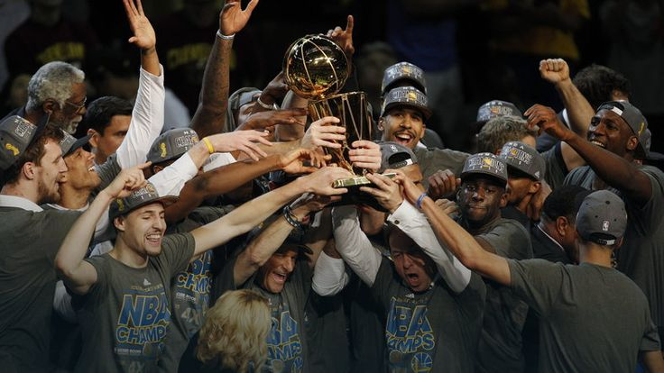 Golden State Warriors zdobyli mistrzostwo NBA